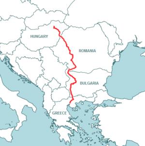 European route E79 - Image: E79 en new