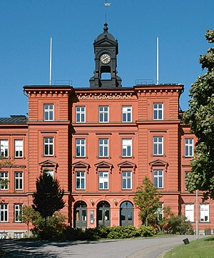 European Centre for Disease Prevention and Control - Seat of ECDC in the former Tomtebodaskolan, Solna
