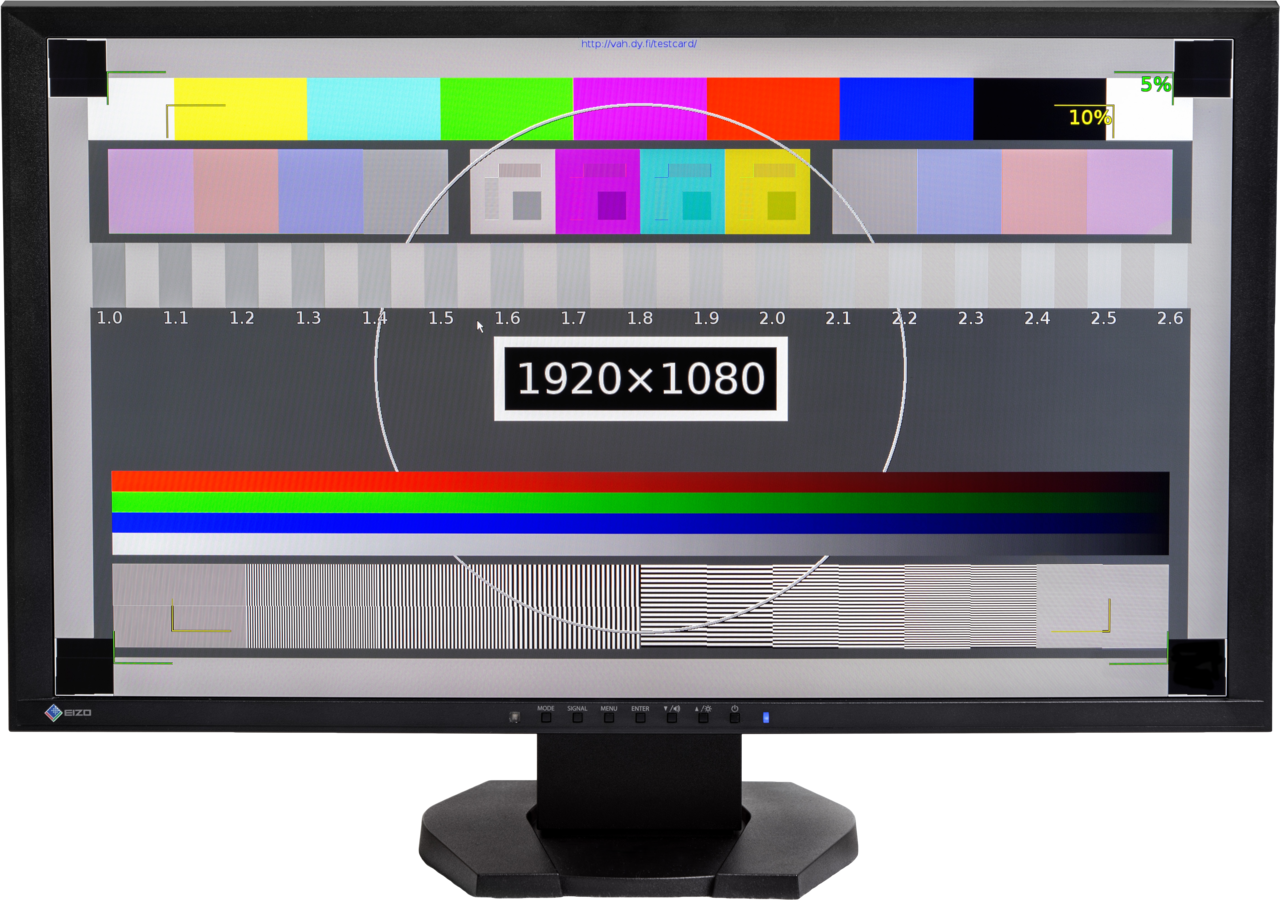 ملف:EIZO Foris FG9 VGA computer monitor displaying test pattern