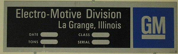 Electro motive diesel for Electro motive division of general motors