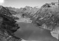 ETH-BIB-Silvaplanersee Oberengadin, Blick nach Westsüdwesten, Piz Duan-LBS H1-018013.tif