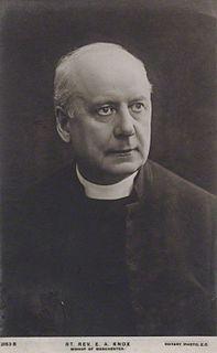 Edmund Knox (bishop of Manchester) British bishop