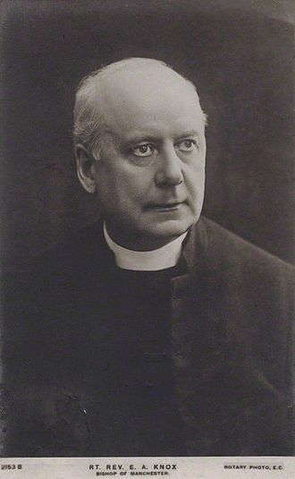 Bishop of Manchester - Image: E A Knox Bp Manchester, Rotary