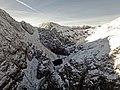 Eagle's Nest (Lough Cummeenoughter) in Carrauntoohil in winter.jpg