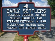 Early settlers of Greene, NY.