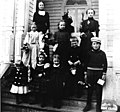 East Seattle school children, Mercer Island, Washington, 1899 (WASTATE 914).jpeg