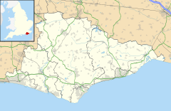Battle is located in East Sussex