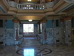 East on main floor of Historic Utah County Courthouse, Jul 15.jpg