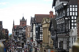 Eastgate Street from the City Wall.JPG