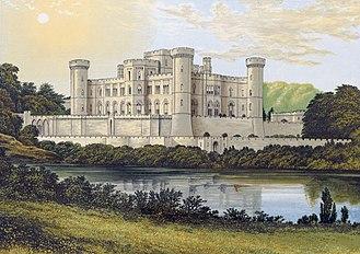 1820 in architecture - Eastnor Castle in the 19th century