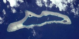 Eauripik - NASA picture of Eauripik Atoll