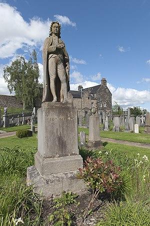 Ebenezer Erskine - Ebenezer Erskine by Alexander Handyside Ritchie, Valley Cemetery, Stirling