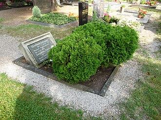 Germersheim - Gravestone of Eberhard Arbogast and his wife Katharina