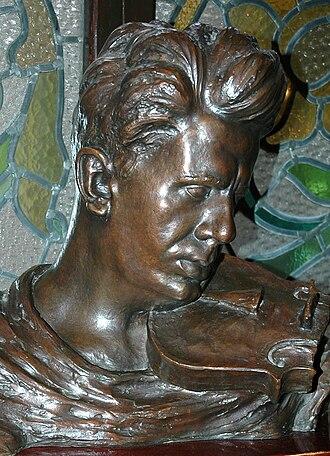 Eduard Toldrà - sculpture of Eduard Toldrà