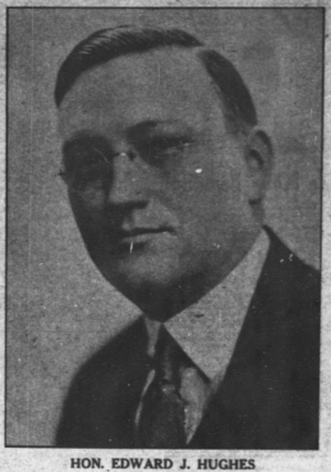 Edward J. Hughes - Image: Edward Hughes 1922