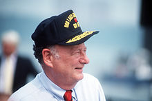 Edward Koch at commissioning of USS Lake Champlain (CG-57).jpg