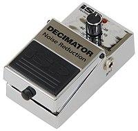 200px Efekt gitarowy%2C bramka szum%C3%B3w Decimator firmy ISP