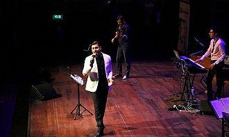 Ehsan Khajeh Amiri - Khajeamiri during a concert in Rotterdam, Netherlands