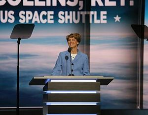 Eileen Collins - Collins speaking at the 2016 Republican National Convention