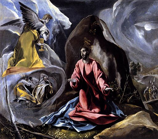 El Greco - The Agony in the Garden - WGA10484