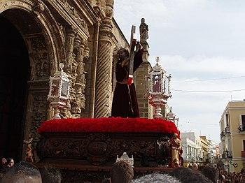 El Nazareno regresando a su templo 2%2C El Puerto