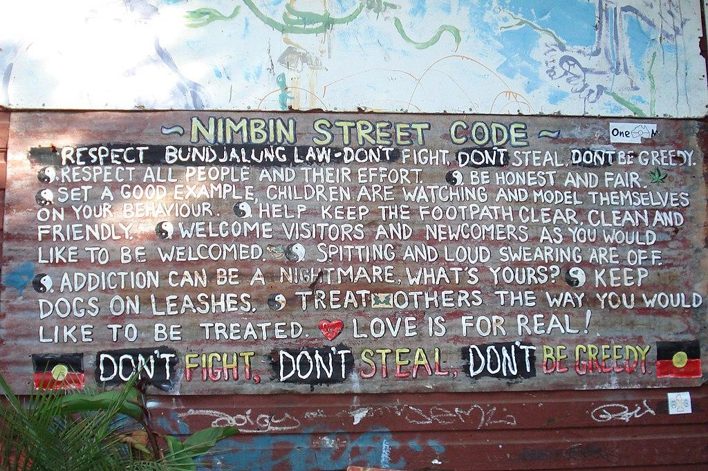 El código de Nimbin - panoramio