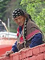 Elderly Woman in Street - Old Manali - Himachal Pradesh - India (26593960385).jpg