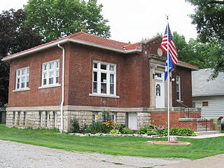 Eldon Public Library United States historic place