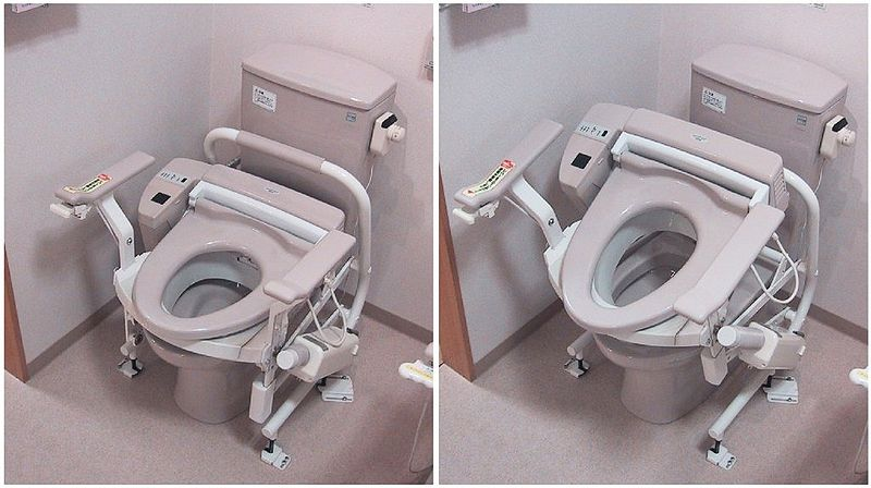 Baños Modernos Japoneses:Toilet Seats Elderly People