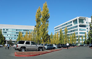 Electronic Arts - Headquarters of EA in October 2007.