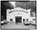 Elevation of Lincoln garage. Looking S. - Lincoln Garage, Business Route 1, Fallsington, Bucks County, PA HAER PA-607-1.tif
