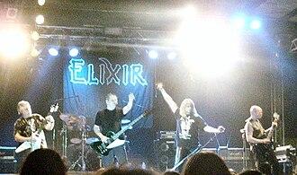 Elixir (British band) - Elixir live in 2010