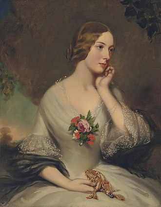 Thomas Baring, 1st Earl of Northbrook - Elizabeth Baring, wife of Thomas Baring (Richard Buckner)