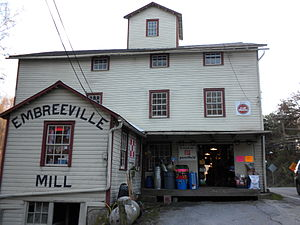 Newlin Township, Chester County, Pennsylvania - Image: Embreeville Mill PA