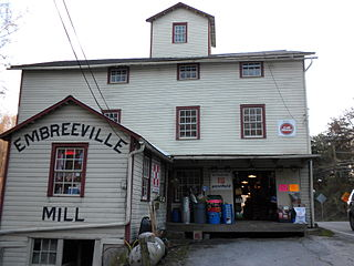 Embreeville, Pennsylvania Unincorporated community in Pennsylvania, United States
