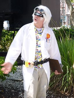 Emmett Brown Back to the Future Universal Studios Florida
