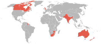 1938 British Empire Games - Countries that participated