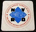 Enamel advertising sign, NVRD Nederlandse Vereniging van Radio-Detailhanderlaren.JPG