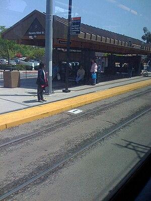 Encanto/62nd Street station - Encanto / 62nd Street Station, 2008