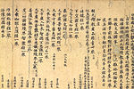 Carefully written Chinese script on brownish paper.