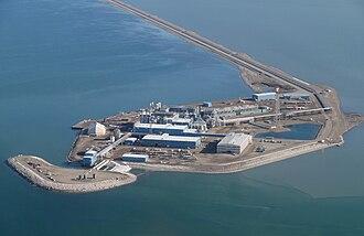 Beaufort Sea - Endicott Island
