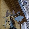 Enseigne de la Brûlerie Saint-Jacques, brûlerie de café rue de lEstrapade.jpg