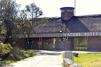 Alberton, Gauteng - Image: Entrance to Klipriviersberg Reserve