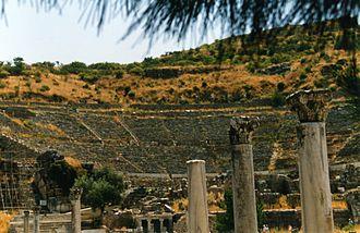 Ephesos Museum - Theatre in Ephesus.