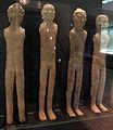 Epoca han occ.li, otto figurette di uomini nudi, da shaanxi, 206 ac.-9 dc. ca. 03.JPG