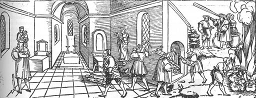 Erhard Schön - Complaint of the Poor Persecuted Idols - WGA21052