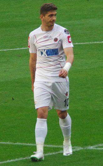 Ermin Zec - Zec playing for Gençlerbirliği in 2014
