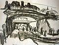 Ernst Ludwig Kirchner Zwei Eisenbahnbrücken in Dresden.jpg