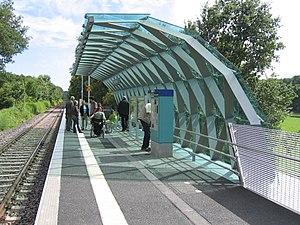 Odenwald Railway (Hesse) - Opening of TU Lichtwiese station