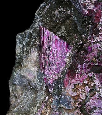 Erythrite - Erythrite from Morocco